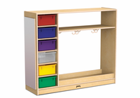 Jonti-Craft� Dress-Up Storage � with Colored Tubs