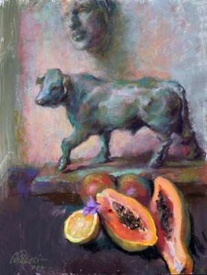 Judith Carducci - Fruitfulness Still life in Pastel DVD