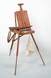 JULLIAN FRENCH EASEL  w/ Free Carrying Bag (Backpack) - Click to enlarge