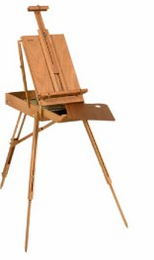 Jullian Half-French Easel - Manufactured in Original Paris France Factory! (Closeout) - Click to enlarge
