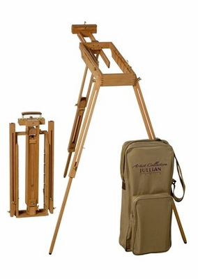 Jullian Rexy Watercolor Easel With Paint Box - Click to enlarge