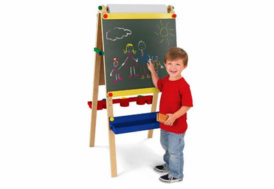 KidKraft Artist Easel with Paper - Click to enlarge