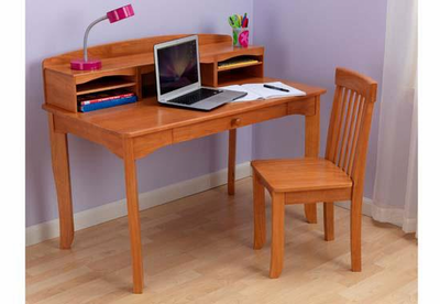 KIDKRAFT Avalon Desk with Hutch  - Click to enlarge