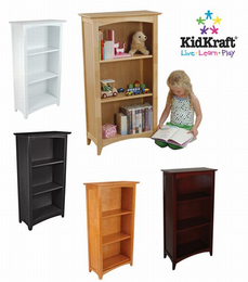 KIDKRAFT Avalon Tall Bookshelf - Click to enlarge
