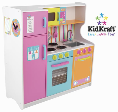KIDKRAFT Deluxe Big & Bright Kitchen