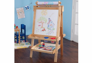 KIDKRAFT Deluxe Wood Easel - Click to enlarge