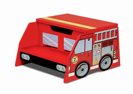KIDKRAFT Firetruck Step N Store - Click to enlarge