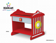 KIDKRAFT Firetruck Toddler Table