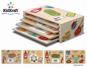 KIDKRAFT Holiday Puzzle Set