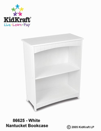 KIDKRAFT Nantucket 2-shelf Bookcase - Click to enlarge