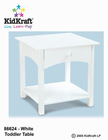 KIDKRAFT Nantucket Toddler Table
