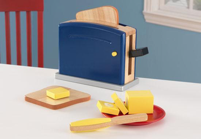 KIDKRAFT Primary Toaster Set