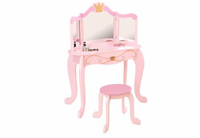 KIDKRAFT Princess Table & Stool