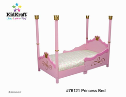 KIDKRAFT Princess Toddler Cot - Click to enlarge