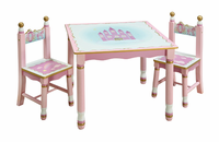 Guidecraft Princess Table and Chair Set