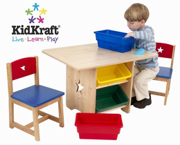KIDKRAFT Star Table and Chair Set - Click to enlarge
