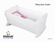 KIDKRAFT Tiffany Bow Lil Doll Cradle