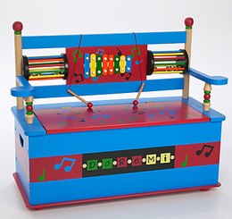 Levels of Discovery MUSICAL TOY BOX BENCH