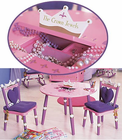 Levels of Discovery Princess Table & 2 Chairs Set