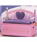 Levels of Discovery PRINCESS TOY BOX BENCH