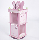 Levels of Discovery SUGAR PLUM REVOLVING BOOKCASE