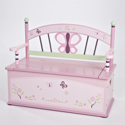 Levels of Discovery SUGAR PLUM TOY BOX BENCH