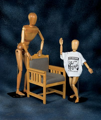 LIFE SIZE MALE MANIKIN - Click to enlarge