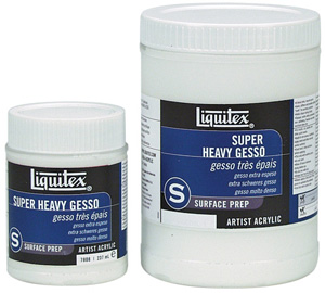 Liquitex SUPER HEAVY GESSO 237ml Jar