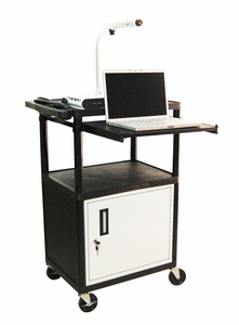 LUXOR LP Series Projector Carts - Click to enlarge