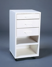 "Martin Modular Mobile Cabinet with 1 standard drawer (2.5""), 2 deeper drawers and 1 fixed shelf"