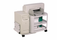 MARTIN YALE Mead-Hatcher Mobile Printer / CPU Stand