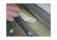 """Maxit Adhesive System Coater (comes filled with Adhesive and 4"""" rubber brayer) - 24 1/2"""" width"""