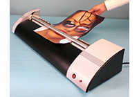 """Maxit Adhesive System Coater (comes filled with Adhesive and 4"""" rubber brayer) - 36 1/2"""" width"""
