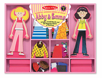 Melissa & Doug Abby & Emma Magnetic Dress-Up - Click to enlarge