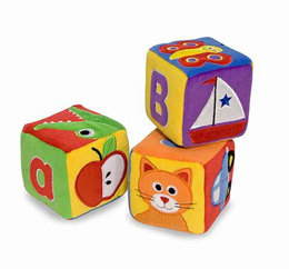 Melissa & Doug ABC Blocks - Plush - Click to enlarge