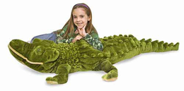 Melissa & Doug Alligator-Plush - Click to enlarge