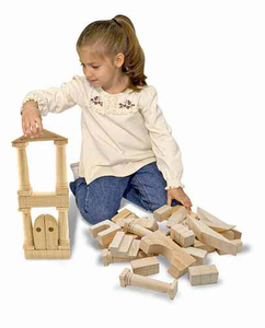 Melissa & Doug Architectural Unit Blocks - Click to enlarge