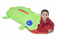 Melissa & Doug Augie Alligator Sleeping Bag