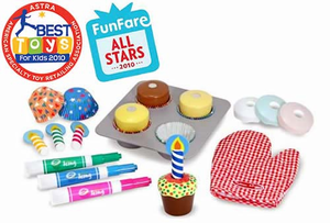 Melissa & Doug Bake & Decorate Cupcake Set - Click to enlarge