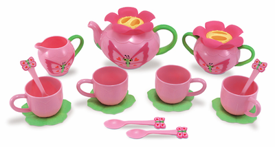 Melissa & Doug Bella Butterfly Tea Set - Click to enlarge
