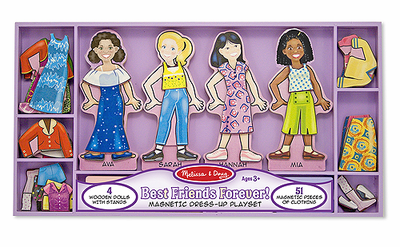 Melissa & Doug Best Friends Forever! Magnetic Dress-Up - Click to enlarge