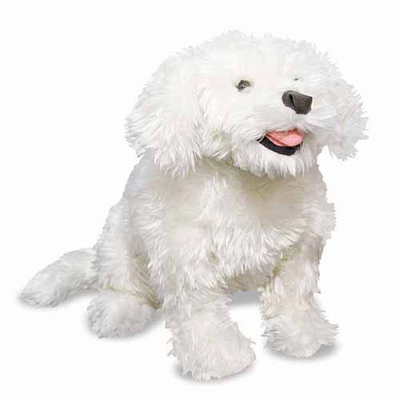 Melissa & Doug Bichon Frise - Plush - Click to enlarge