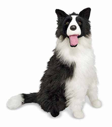 Melissa & Doug Border Collie - Plush