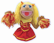 Melissa & Doug Cheerleader Puppet