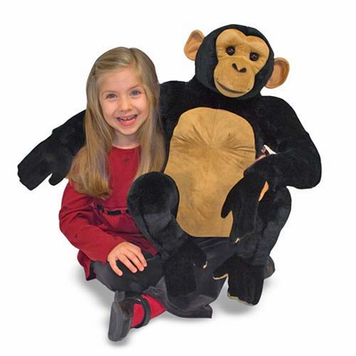 Melissa & Doug Chimpanzee - Plush - Click to enlarge