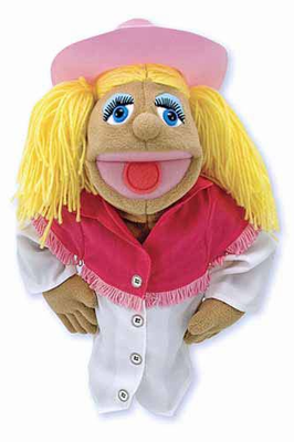 Melissa & Doug Cowgirl Puppet