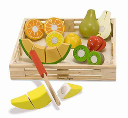 Melissa & Doug Cutting Fruit Crate - Click to enlarge