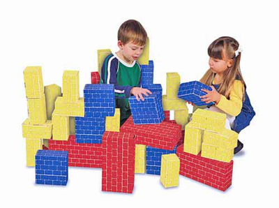 Melissa & Doug Deluxe Jumbo Cardboard Blocks (40 pc) - Click to enlarge