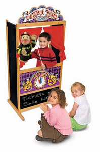 Melissa & Doug Deluxe Puppet Theater - Click to enlarge