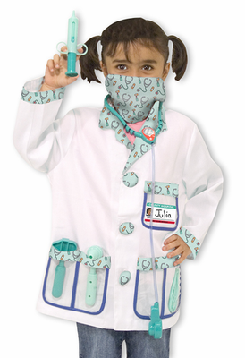 Melissa & Doug Doctor Role Play Costume Set - Click to enlarge